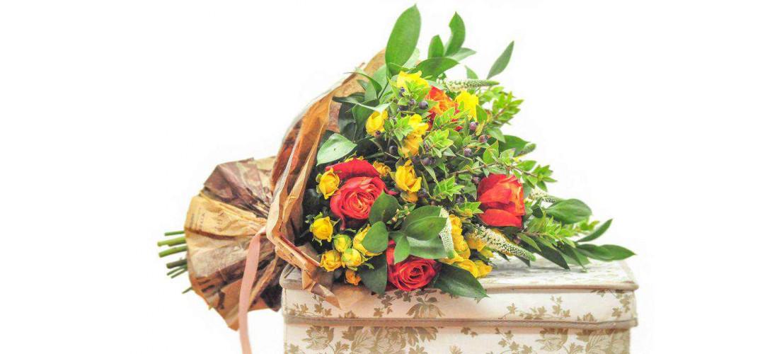 Услуга доставки цветов и виды букетов для доставки>