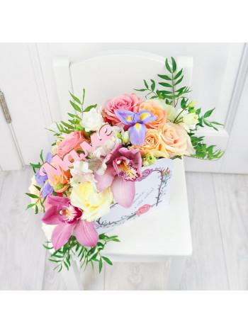 """Букет цветов """"Любимой маме"""""""