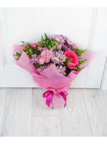 Букет цветов Розовая мечта