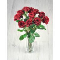 Букет из 11 красных роз.