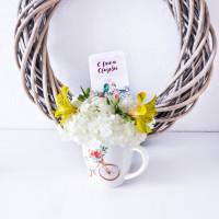 """Мини открытка """"С днем свадьбы"""""""