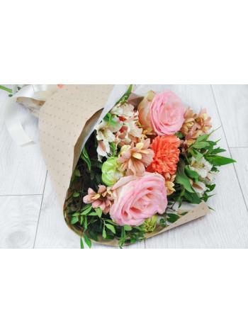 Букет цветов Первый поцелуй