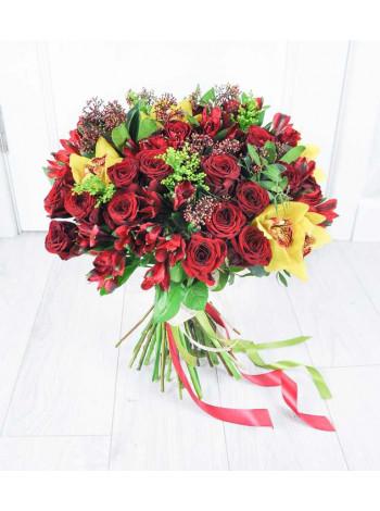 Букет цветов Праздничное настроение